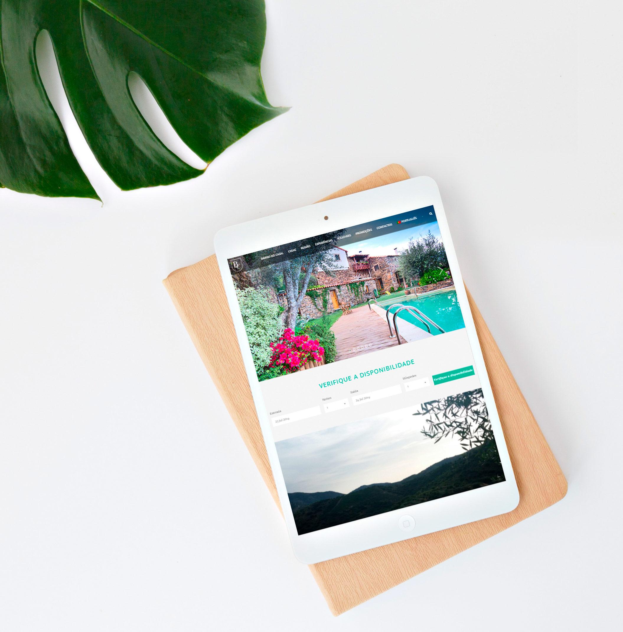 Website Mobile Bairro do Casal