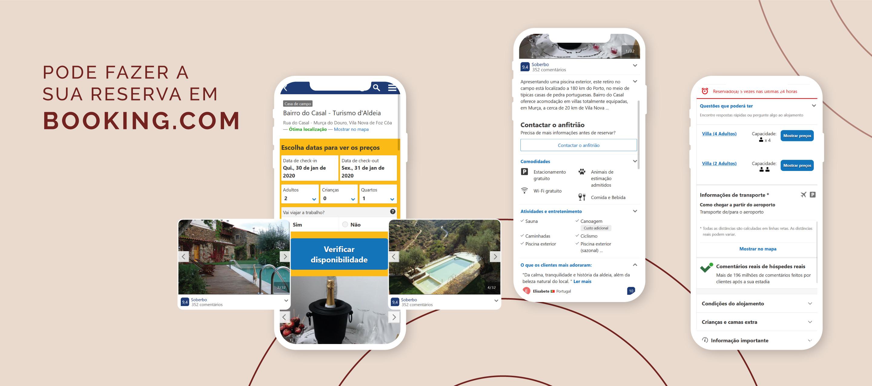 Bairro do Casal Website - booking