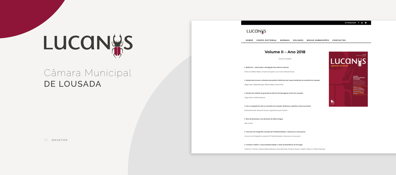 Lucanus Website - home