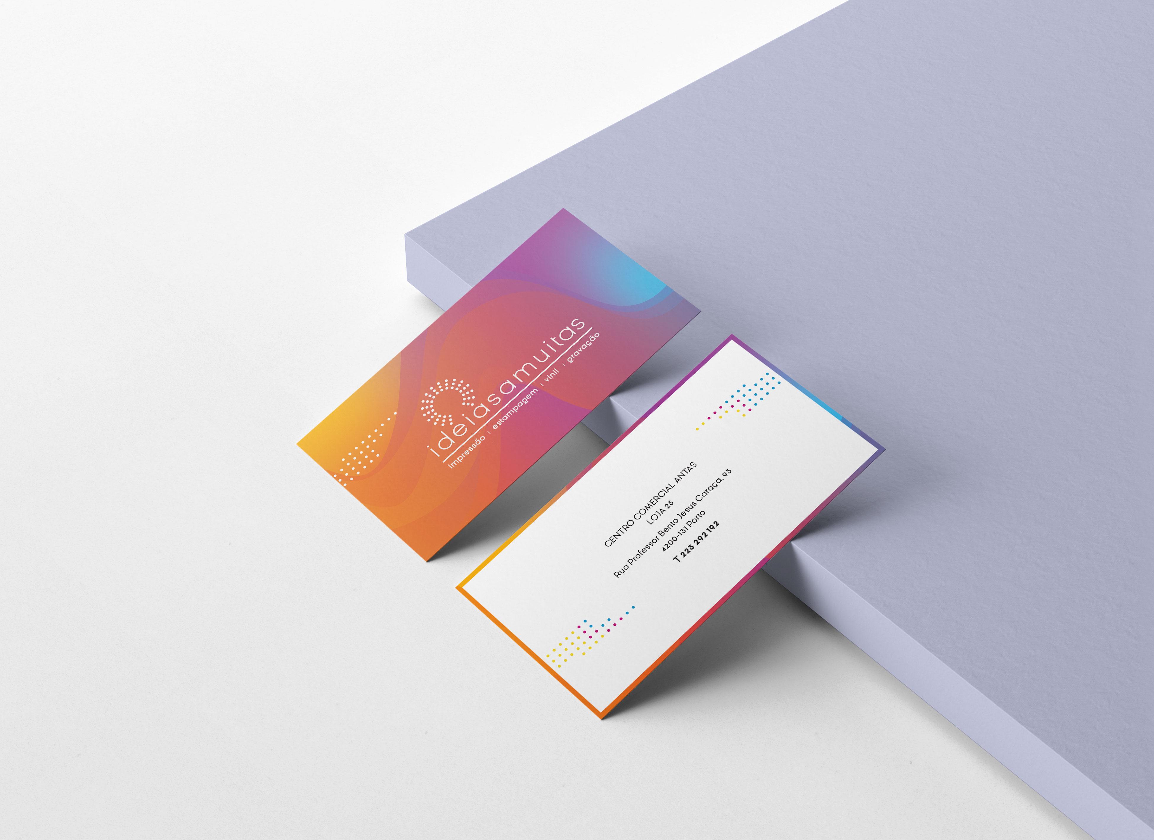 Cartão Visita Ideiasamuitas