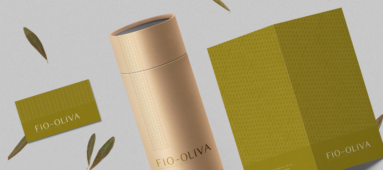 Fio Oliva - packaging, cartão visita, díptico