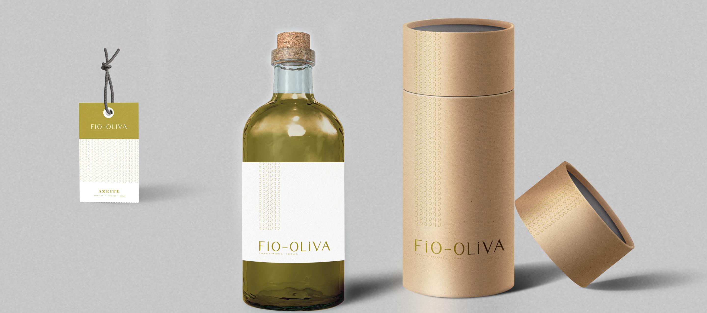 Fio Oliva - packaging e etiqueta